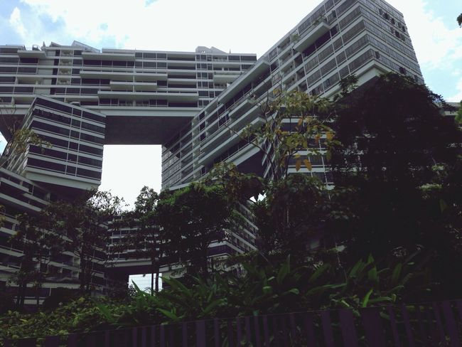 Urban Geometry Interlace Architecture Singapore