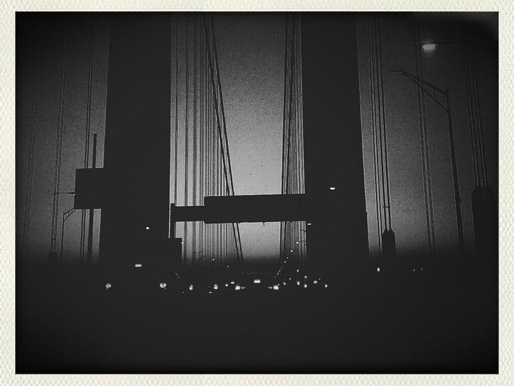 having a bit of too much fun with pictures of the Verrazano Bridge Fortheloveofblackandwhite Newyork Brooklyn