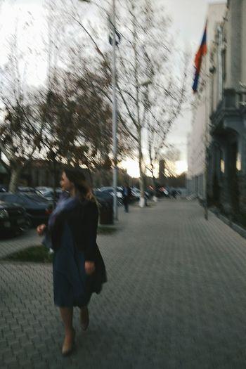 Armenia Yerevan Yvn Prettywoman Street Photography StreetsofYerevan Real People Sky City Architecture Lifestyles Women Outdoors Day Tree People Walking