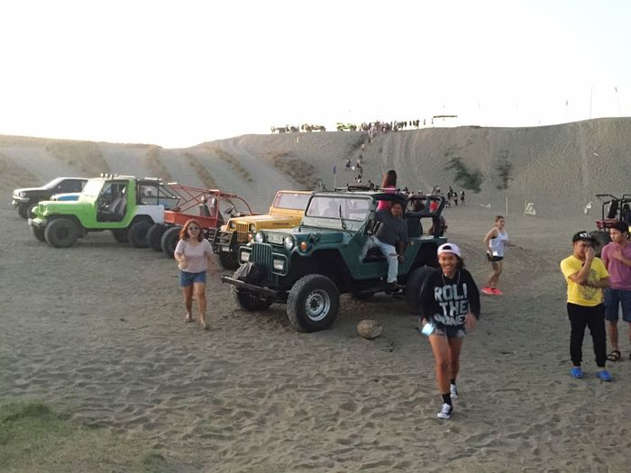 LaPazSandDunes Laoag City 27thdec2015 Philippines First Eyeem Photo Sandboarding 4x4 Trucks