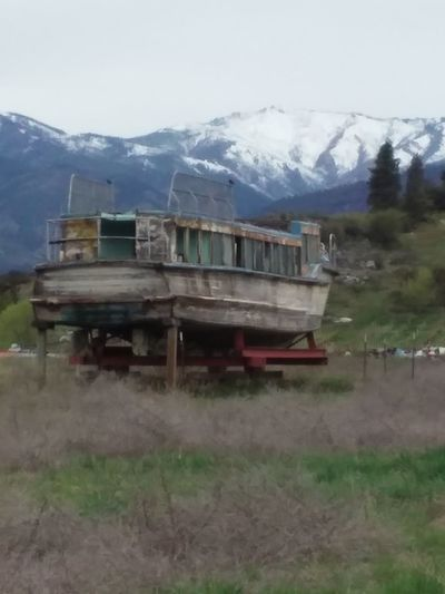 Manson, Washington. Boats Mountain View