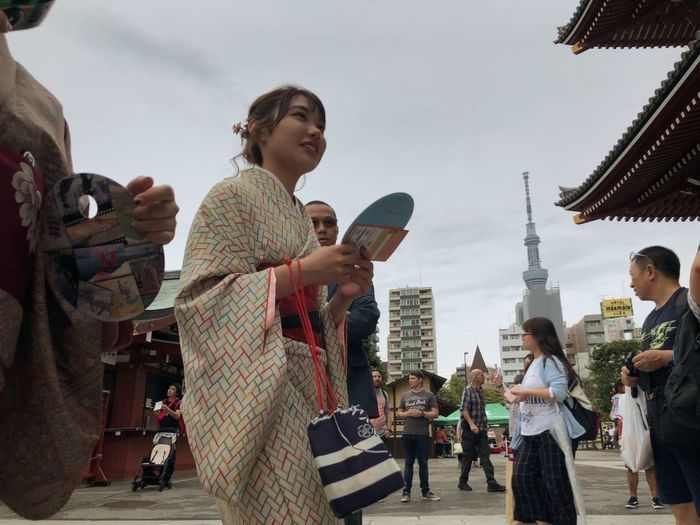 Traditional Clothing Group Of People Real People Architecture Sky Women Adult