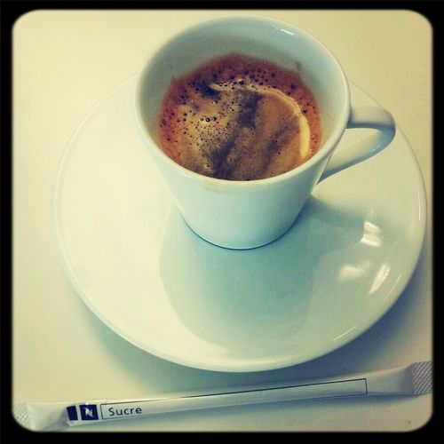 A cofee at Toulouse. What else ? Restaurant food