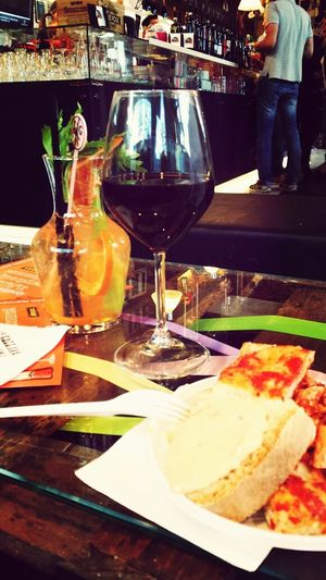 Drinks Relaxing Enjoying Life Toscana