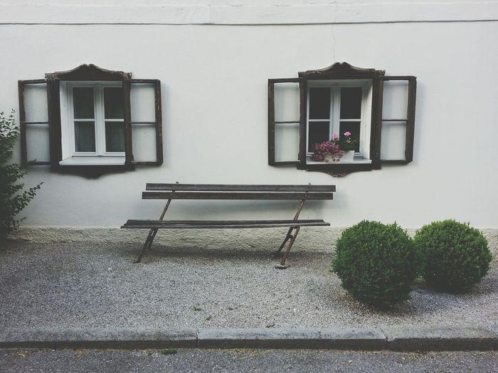 Window Building Exterior Architecture Built Structure House Outdoors No People Day Salzburg, Austria Austria