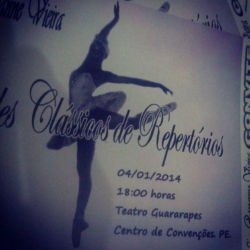 Sábado chegue logo :)) Ballet Paquita Repert ório Lagodoscisnes balletrv recife