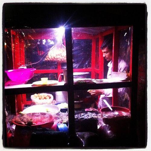 Street Shop Chotpoti Fuchka Vendor Street Night Color Mohammadpur Dhaka Instagram