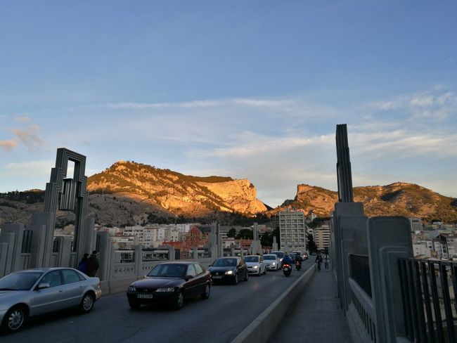 Alcoy Winter Day City Car Sky Outdoors Cold Temperature Morning Morning Light Mountain Village Moutains Morning Sunrise Cars Car