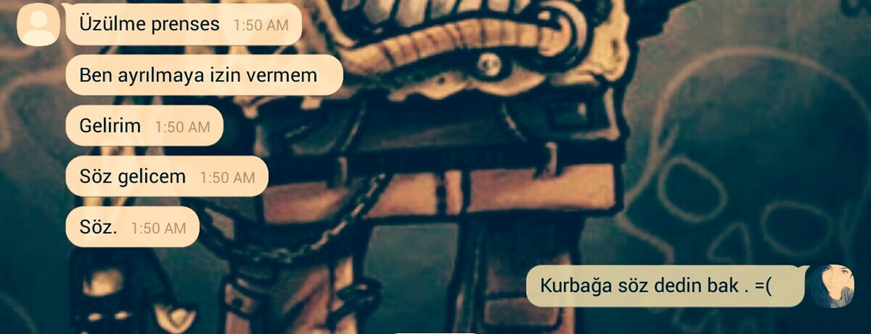 Kurbaga Flag Aşk Seviyorum çoközledim
