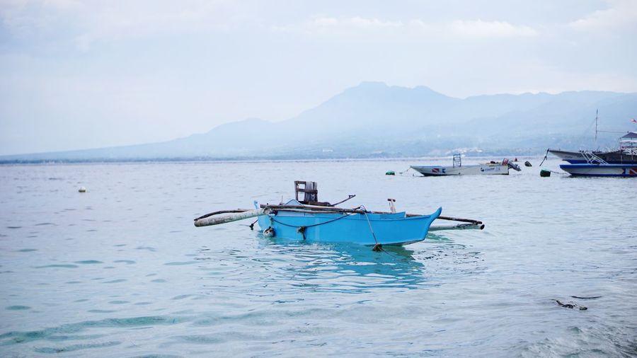 Calm sea. Water