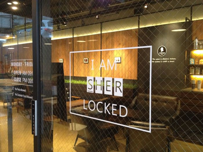 221B Lounge Cafe in Chai communication B/D Seoul Seoul Gangnam Style Interior Design Sweet Time In Hot Place