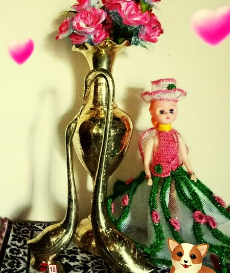 gold doll Bauble Christmas Ornament Figurine  Easter Bunny Christmas Decorating The Christmas Tree Stories From The City