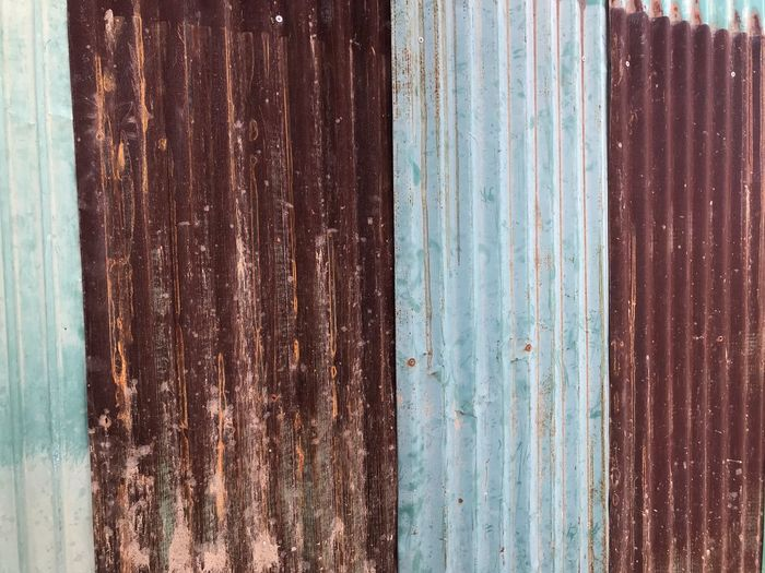 Full Frame Rusty No People Pattern Backgrounds Metal Weathered Wood - Material Corrugated Iron Old Day Built Structure Textured  Deterioration Decline Architecture Close-up Damaged Iron Corrugated