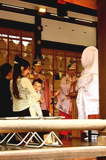 Wedding Ceremony In Kyoto
