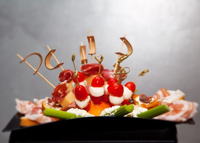 Appetizers Salami Meal Vegetable Green Color Red Nobody Italian Food Eating Eat Dinner Lunch Salumi Dish Plate Of Food Cheese Mozzarella Appetizers Tomatos Food And Drink Freshness No People Indoors  Food Close-up Ready-to-eat Healthy Eating