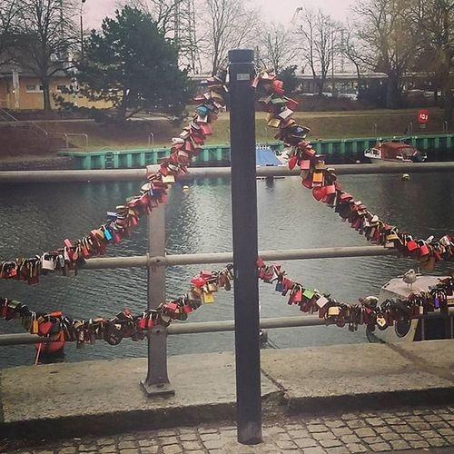 Love Miłość Kłódki Forever Nazawsze Morze Rostock Germany Nadmorzem