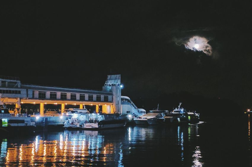 Moonlight luminence. Night Illuminated Reflection No People Moonlight The Week On EyeEm