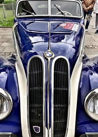 iPhone X Snapseed App Car Land Vehicle Metal Day No People Luxury Vintage Car Outdoors