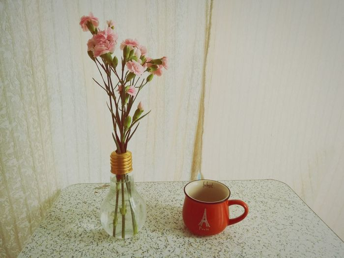 Carnation Bay Window Vase Flowers Red Plant Life Bunch Of Flowers EyeEmNewHere