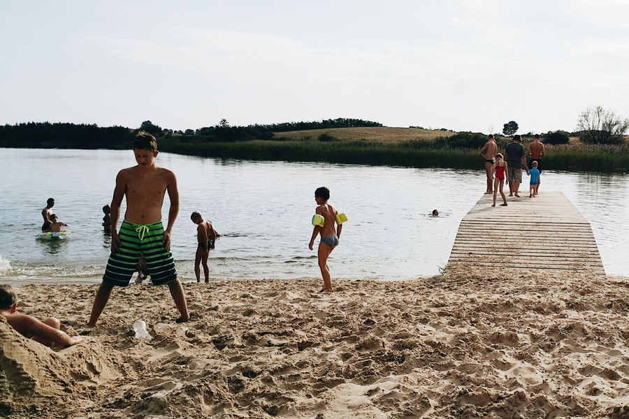 Kids in Tymawa, Poland. No gadgets just sun, lake and sands The Great Outdoors – 2016 EyeEm Awards Boysofsummer The Essence Of Summer - 2016 Eyem Awards The Essence Of Summer The Street Photographer – 2016 EyeEm Awards Kids Being Kids Summer Views Sands Summer Poland Summer Vibes JezioroLake View Lakes  Eyeemphoto Finding New Frontiers Live For The Story Mix Yourself A Good Time Summer Exploratorium