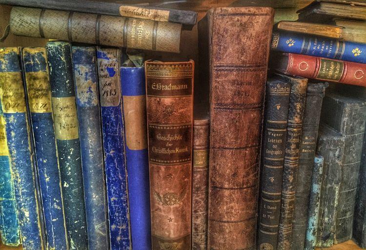 Books in the shelf. Books Shelf Bookshelf Old Books Old Book Library Knowledge
