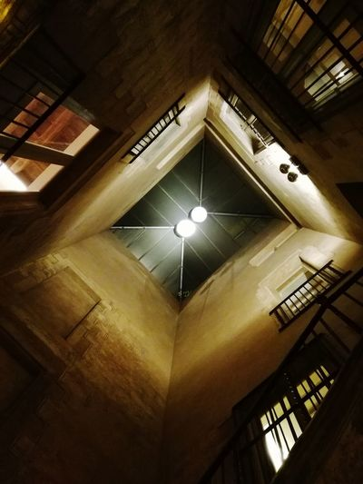 Architecture Hotel Illuminated Indoors  Lookingup Art Is Everywhere Special Place Angle View Built Structure Indoors  Ceiling No People Raconets Restaurant Catalunya Barcelona Light Stairs Night Beautiful Special