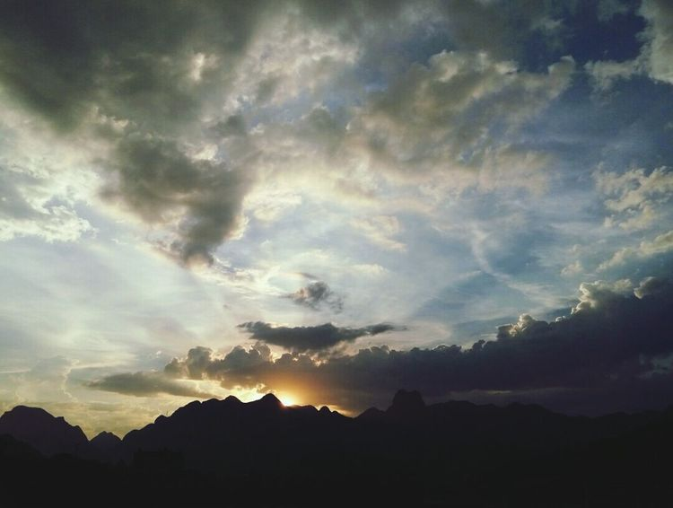 Sunset Sunset_collection Sky And Clouds Sky Sky_collection Cloud Clouds And Sky Clouds Mountain Natural Beauty Nature Nature_collection Sky_collection Sky_ Collection Skylovers Colour Of Life