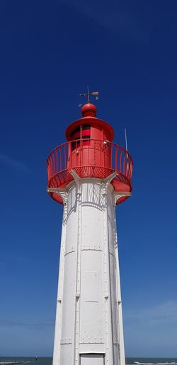 Lighthouse Harbor Prison Red Blue Lookout Tower Guidance Protection Business Finance And Industry Safety