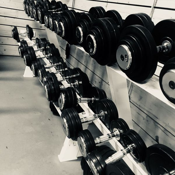 Gym Indoors  No People Strength Health Club Exercising Technology