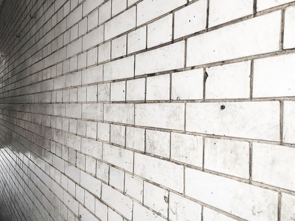 White Wall Eyeem Whitewall: Abstract Lines Dirty What Am I Looking At? Reflective Surface Floor Tiles Bricks Rotated Not Rotated Geometry Light And Shadow Pivotal Ideas