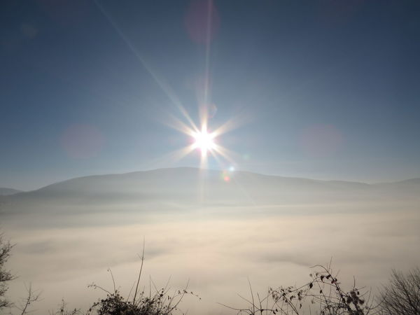 Mountain Sun Smog Cityescape Beautiful Day Sky Eyemnaturelover Naturelovers