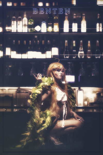 Benten BenTen  Zone00 Cosplay Portrait Single Solo Person Bar Pub Low Light Close-up Young Adult One Woman Only Indoors  Malaysia Asdgraphy Sony Sonyimages Sonyphotography Sony A6000 Alphauniverse