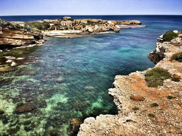 Siracusa - Sicily The Great Outdoors - 2015 EyeEm Awards Hello World Getting Inspired Sicily Nature Nature_collection Sea Life Sea View Life Is A Beach Sea And Sky Plemmirio - Pillirina 🐠