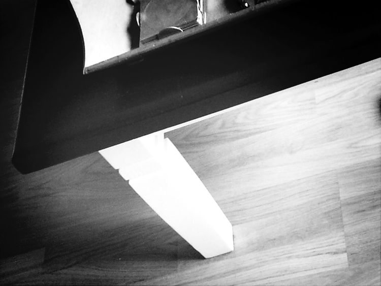 Black And White table. Play Of Light :)