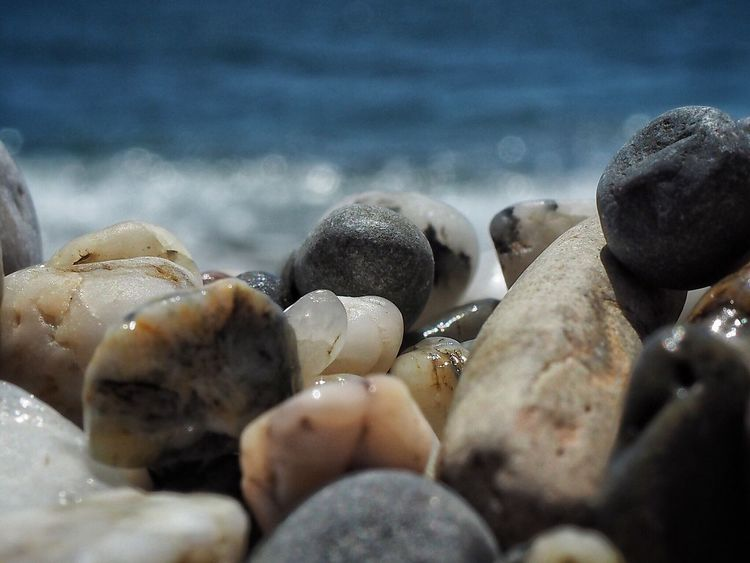 EyeEm Selects CostadelSol SPAIN Torredelmar Ocean Photography Beachphotography Olympus Om-d E-m10 Water Pebbles And Stones Pebbles On A Beach
