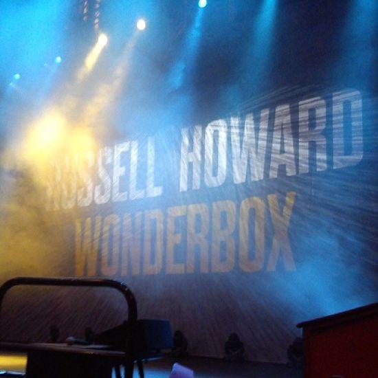 RussellHoward Wonderbox RoyalAlbertHall Kensington SouthKensington LondonBaby London FrontRow