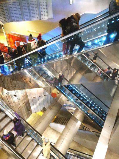 Underground Station Toledo Naples Italy Modern Metro