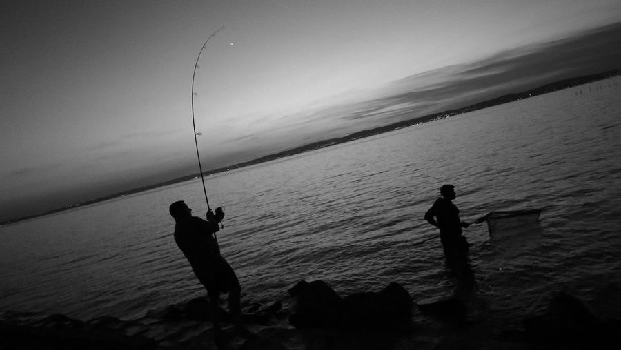 Fishing after