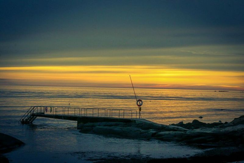 Pain is inevitable, but not suffering Ocean View Seaside Sunset Swedish Summer Sweden Westcoast Of Sweden Enjoying The View Sunset_collection MADE IN SWEDEN Sweden Varberg Sea View Sea Life EyeEm Nature Lover Varberg, Sweden Travel Beachphotography