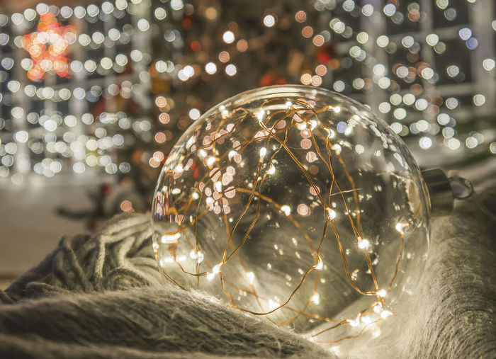Christmas lights and cozy time Bokeh Bokeh Photography Bokehlicious Bokeh Lights Christmas Christmas Lights Bauble Celebration Christmas Christmas Decoration Christmas Lights Christmas Tree Close-up Focus On Foreground Illuminated Indoors  Night No People