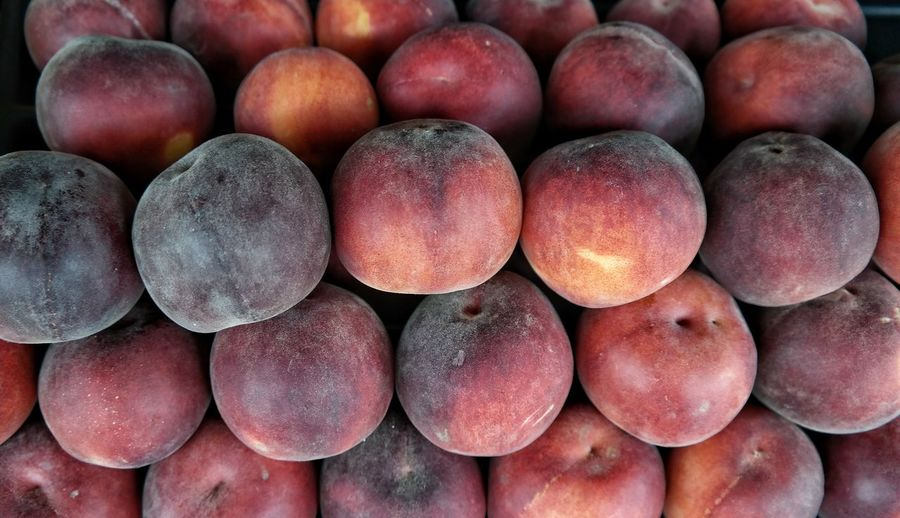 Close-Up Of Peach Fruits