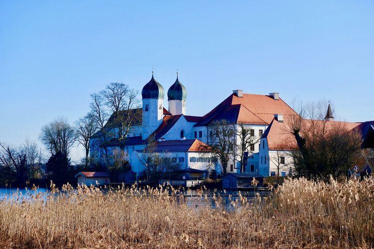 View of seeon monastery