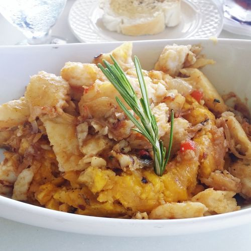 What's For Dinner? Mofongo Con Chillo Plantain Chillo Pitos Seafood Seafood Seafoodporn Fish Dinner Hungry