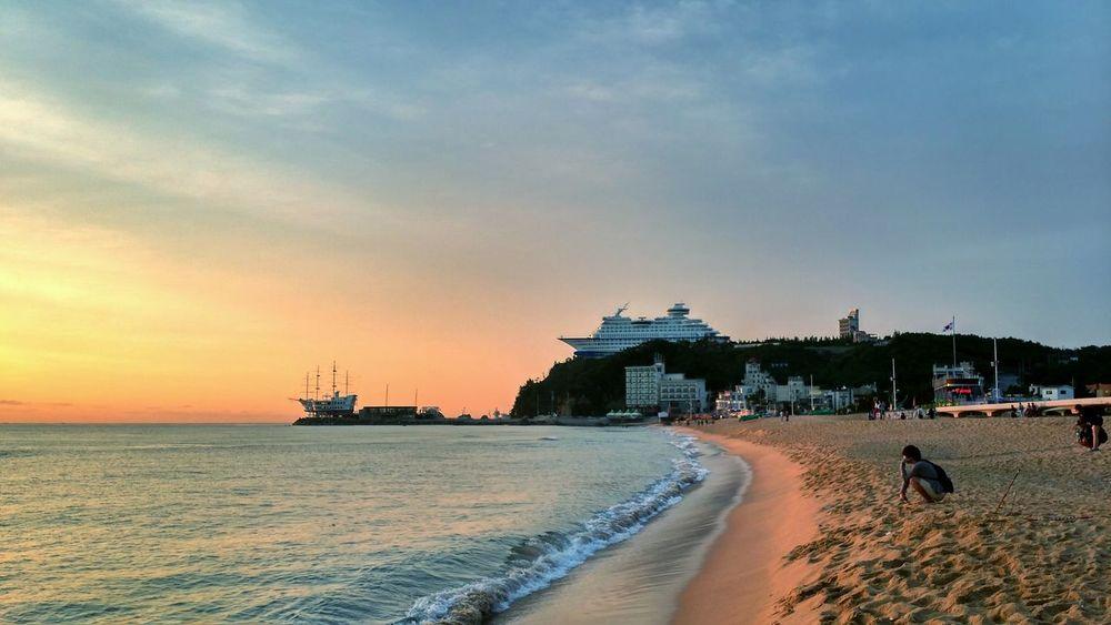 내일로 여행 정동진 Sunrise Landscape Beach