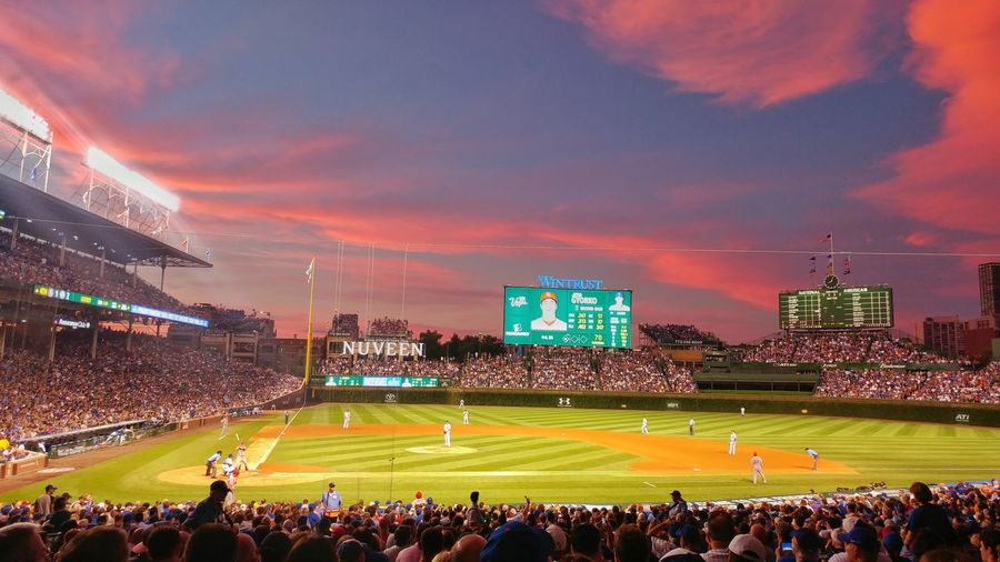 Windycity ChiTown Chicago Illinois Chicago Chicago ♥ Chicago Cubs Chicago City Summertime Summer Memories 🌄 Baseball Game Baseball Stadium Stadium Wrigleyfield Color Of Life Best EyeEm Shot Colour Of Life