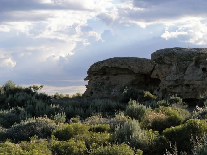 Cliff Mountain Non-urban Scene Physical Geography Rock - Object Rock Formation Scenics Wyoming