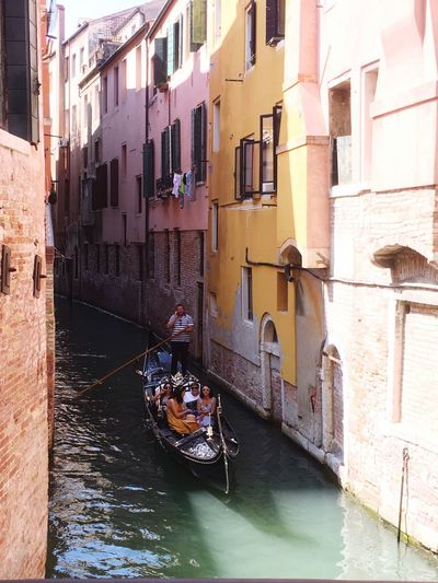 Gondola ride Built Structure Building Mode Of Transportation Canal City