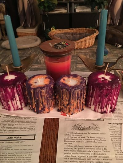 """""""Drip candles"""