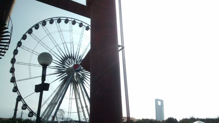 Discover Your City rueda de la fortuna en parque fundidora