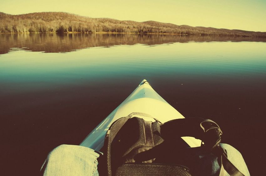 Kayaking Adventure VSCO Get Lost